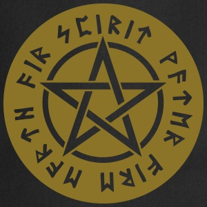 Pentagram star element rune paganism witchcraft Bags & Backpacks - Cooking Apron