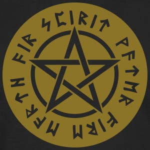 Pentagram star element rune paganism witchcraft Bags & Backpacks - Men's Premium Longsleeve Shirt