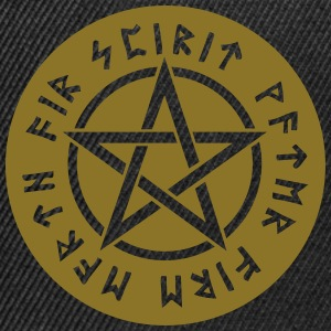 Pentagram star element rune paganism witchcraft Bags & Backpacks - Snapback Cap