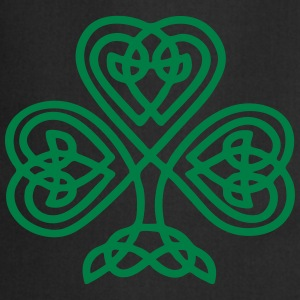 S. Patricks Day Shamrock Trinity & Eternal Love Tassen & rugzakken - Keukenschort