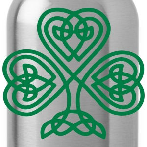 S. Patricks Day Shamrock Trinity & Eternal Love Tassen & rugzakken - Drinkfles