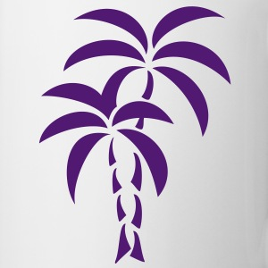 Palm Tree / Tattoo Style / Vector / Sweatshirts - Kop/krus