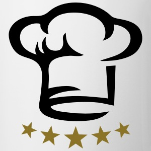 Five star chef hat, gold, hotel, cook, kitchen, 5, Gensere - Kopp