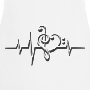 Music, pulse, sheet, classical, dance, rock, note T-Shirts - Cooking Apron