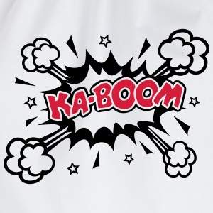 KABOOM, comic speech bubble, cartoon, word balloon Hoodies & Sweatshirts - Drawstring Bag