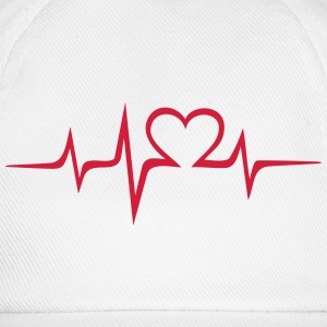 Heart rate music Dub Techno House Dance Electro Sudaderas - Gorra béisbol