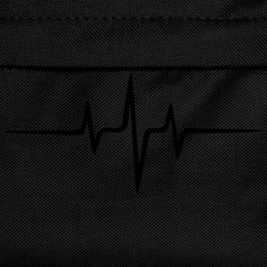 Music Heart rate Dub Techno House Dance Electro Sudaderas - Mochila infantil