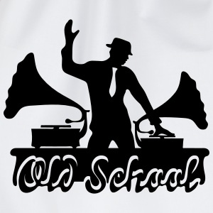DJ Old School, Gramophone, swing, music, dance Gensere - Gymbag