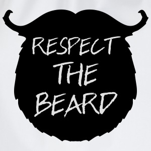 Respect The Beard 2 T-Shirts - Drawstring Bag