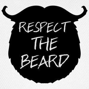 Respect The Beard 2 T-skjorter - Baseballcap