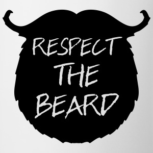 Respect The Beard 2 T-Shirts - Tasse