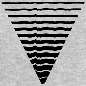 Lines many strokes triangle shape pattern T-Shirts - Men's Sweatshirt by Stanley & Stella