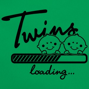 Twins loading... T-Shirts - Retro Tasche