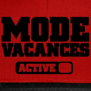 Mode vacances Tee shirts - Casquette snapback