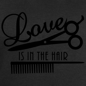 love is in the hair (d, 1c) T-Shirts - Männer Sweatshirt von Stanley & Stella