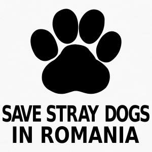 Save Stray Dogs In Romania Buttons - Men's Premium Longsleeve Shirt
