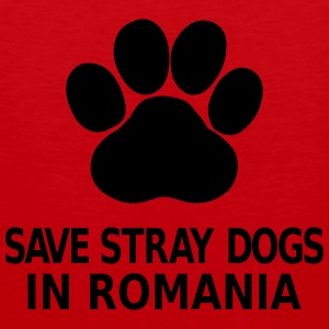 Save Stray Dogs In Romania Magliette - Canotta premium da uomo