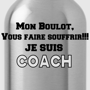 JE SUIS COACH 2 Tee shirts - Gourde