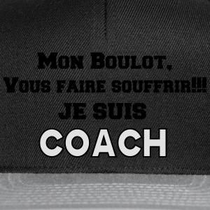JE SUIS COACH 2 Tee shirts - Casquette snapback