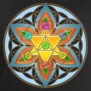 Flower of Life, Merkaba, Chakras, Metatron Tee shirts - Sweat-shirt Homme Stanley & Stella