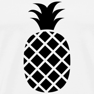 Pineapple Tops - Mannen Premium T-shirt