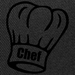 Chef Tee shirts - Casquette snapback