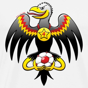 Germany's Eagle Football Champion Hoodies & Sweatshirts - Men's Premium T-Shirt