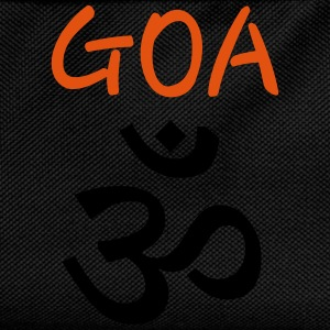 Psy GOA (Om) - Text GOA - Kinder Rucksack