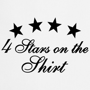4 Stars On The Shirt Tops - Kochschürze