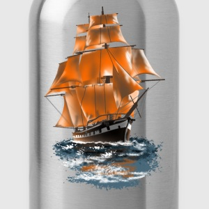sailing ship T-shirts - Drinkfles