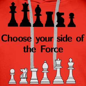 Choose your side of the Force Koszulki - Bluza męska Premium z kapturem