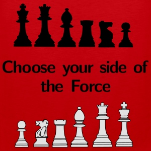 Choose your side of the Force T-paidat - Miesten premium hihaton paita