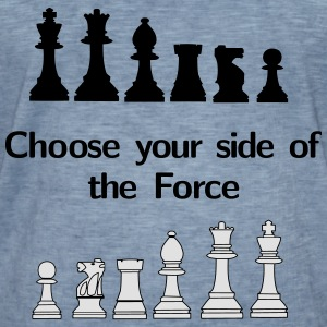 Choose your side of the Force Hoodies & Sweatshirts - Men's Vintage T-Shirt