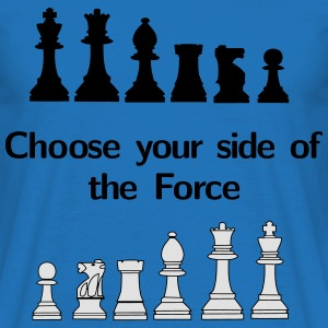 Choose your side of the Force Sudaderas - Camiseta hombre