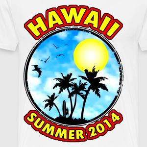 hawaii summer 2014 Long sleeve shirts - Men's Premium T-Shirt