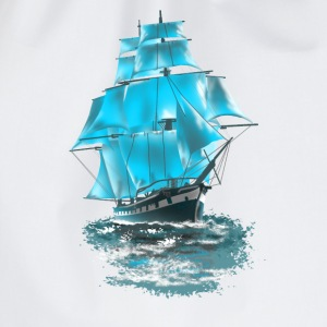 sailing ship Tank Tops - Drawstring Bag