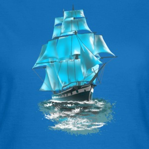 sailing ship Bottles & Mugs - Women's T-Shirt