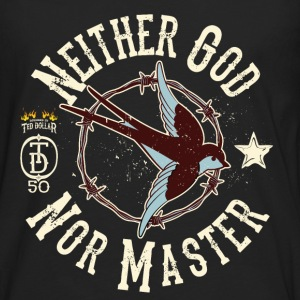 Neither God Nor Master - T-shirt manches longues Premium Homme