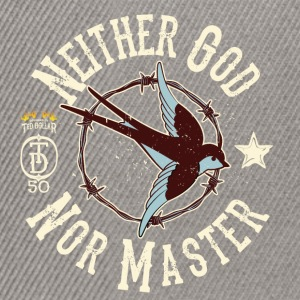Neither God Nor Master - Casquette snapback