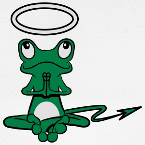 Frog Angel Devil Halo Devil tail T-Shirts - Baseball Cap