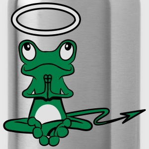 Frog Angel Devil Halo Devil tail T-Shirts - Water Bottle