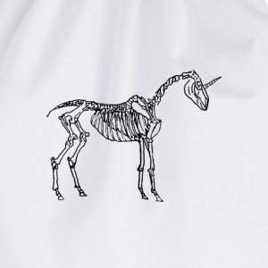 Unicorn Skeleton T-Shirts - Turnbeutel