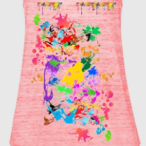 paint T-Shirts - Women's Tank Top by Bella