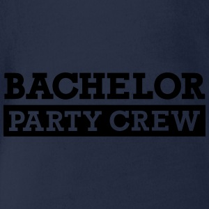 Bachelor Party Crew T-Shirts - Baby Bio-Kurzarm-Body