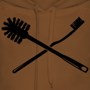Toothbrush and toilet brush T-Shirts - Women's Premium Hoodie