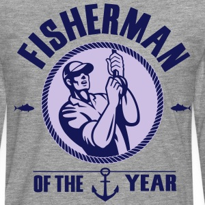 Fisherman of the year T-Shirts - Men's Premium Longsleeve Shirt