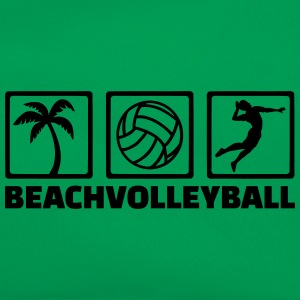 Beachvolleyball T-Shirts - Retro Tasche