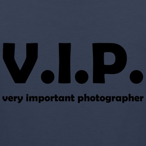 vip photographer T-Shirts - Männer Premium Tank Top