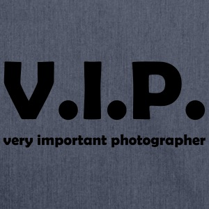 vip photographer T-Shirts - Schultertasche aus Recycling-Material