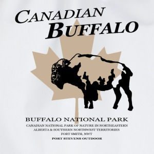 Bison - Buffalo - Canada T-skjorter - Gymbag